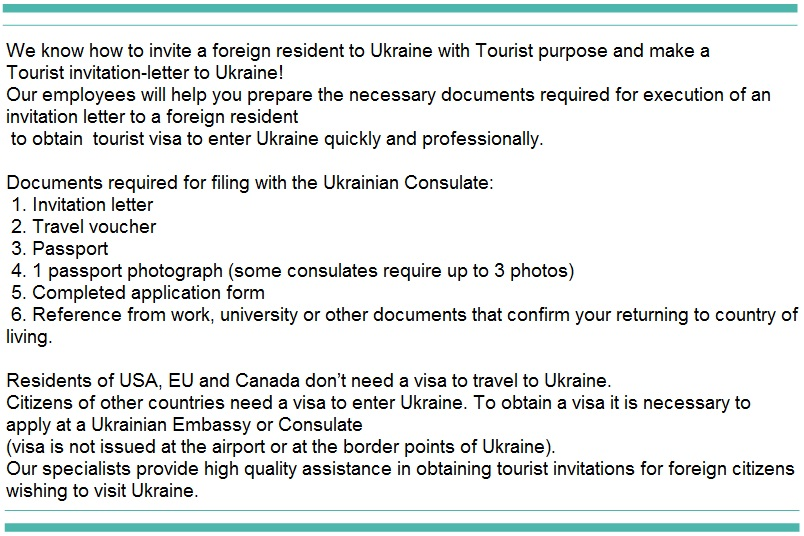 Tourist invitation letter to ukraineinvitation for visa to russia tourist invitation letter to ukraineinvitation for visa to russia and ukraineall servicesinvitation for visa to russia and ukraineinvitation 4 visa stopboris Gallery