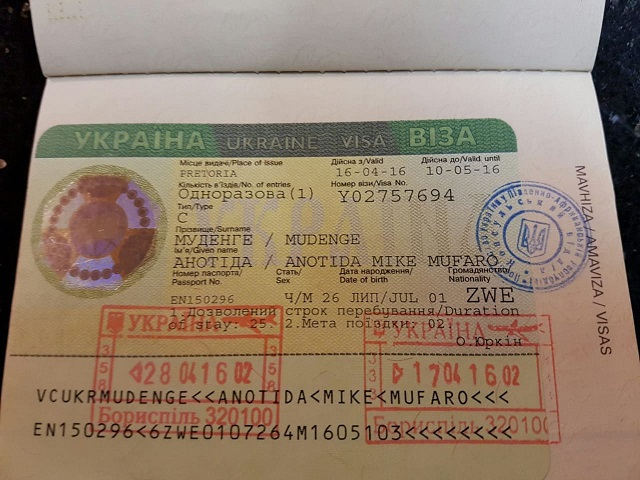 visa to ukraine